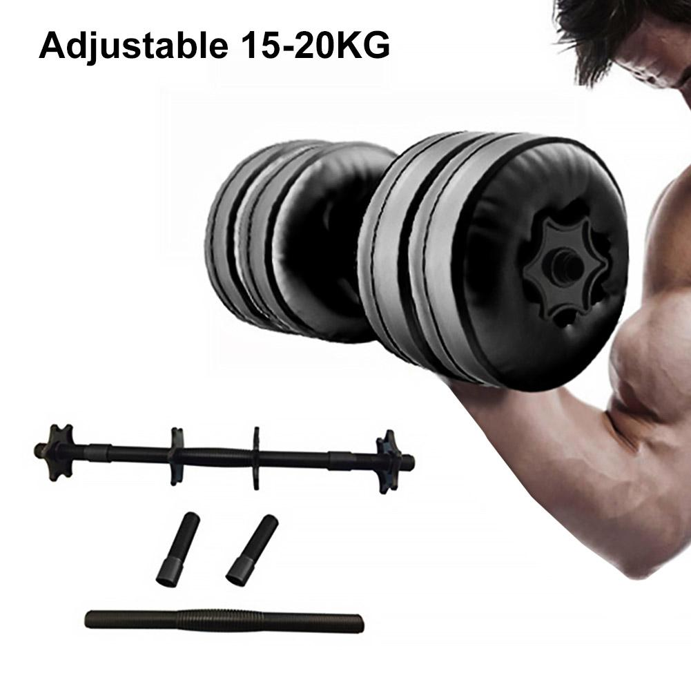 Water Filled Dumbbell Adjustable Watered Dumbbells Hand Weight Fitness Equipment