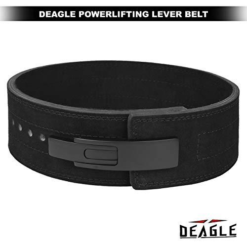 Deagle Powerlifting Lever Belt for Men /& Women Genuine 11MM Thick Leather Weightlifting Gym Back Support Squat Deadlift Strongman PRO Belt