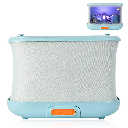 Toothbrush Foldable UV-C Cleaner Disinfection Dryer Underwear Detachable Travel UV Light Wand /& Storage Box for Phone Double Sterilization Portable High Capacity Light Box Baby Bottle 4 in 1 UV Light Sanitizer Bag