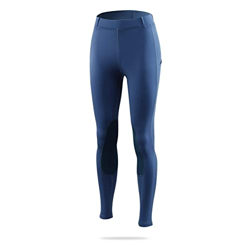 Details about  /BALEAF Women/'s Riding Tights Knee-Patch Breeches Horse Pants Equestrian Active S