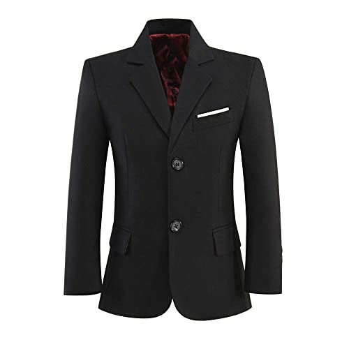 Visaccy Boys Formal Blazer School Jacket