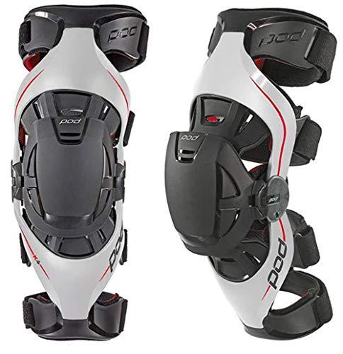 Carbon//Blue, X-Large POD Unisex-Adult K8 Knee Brace Left