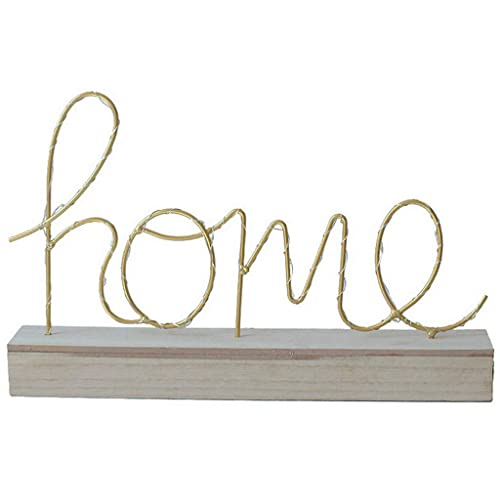 Buy Home Jewelry Ornaments Wrought Iron Wood Love Letter Night Light For Home Garden Party Wedding Office Decor Online In Costa Rica B07sltrk79
