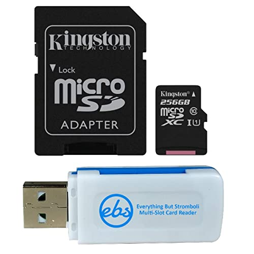Professional Kingston 512GB for Samsung Galaxy A50 MicroSDXC Card Custom Verified by SanFlash. 80MBs Works with Kingston