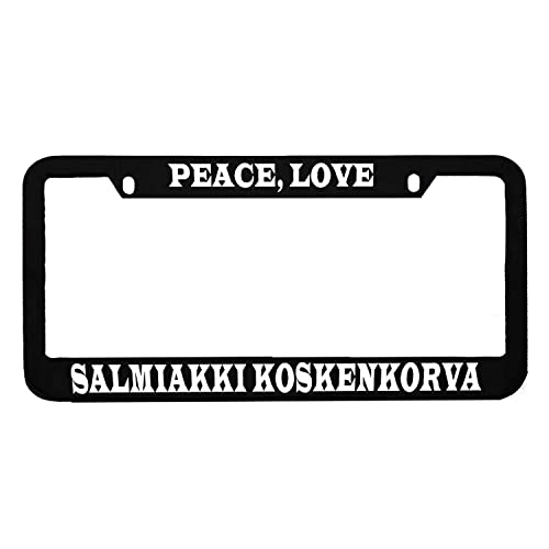 AllCustom4U Durable License Plate Frame for Women//Men 2 Holes with Screws Stainless Steel Humor Funny Car License Plate Cover