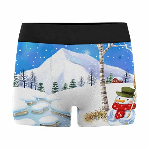 XS-3XL Hippie Style INTERESTPRINT Custom Mens All-Over Print Boxer Briefs Dream Catcher with Feathers Bohemian