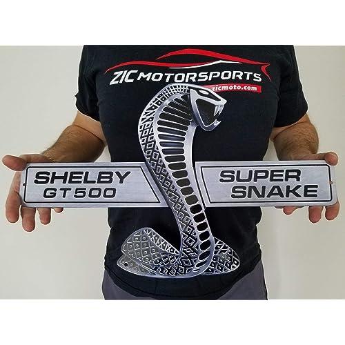 Buy Zic Motorsports Shelby Cobra Super Snake Gt500 Heavy Duty Metal Garage Wall Sign 21 X 13 Online In Costa Rica B07k3wbwtm