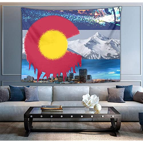 Niyoung American Colorado State Flag Tapestries Boho Wall Tapestry Wall Hanging Tapestry Home Indian Decor Retro Art Living Room Bedroom Dorm Room Buy Products Online With Ubuy Costa Rica In
