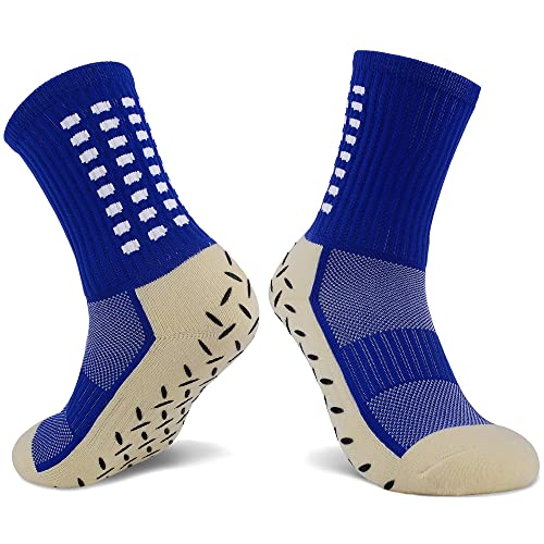 JHM Kids Slipper Hospital Grip Athletic Sport Sockcs for Ages 4 to 16