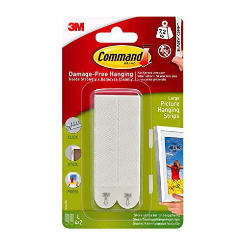 Command 17206 Es Heavy Duty Holds 16 Lbs Picture Hanging Strips 4 Pairs White Buy Products Online With Ubuy Costa Rica In Affordable Prices B07ybxby6w